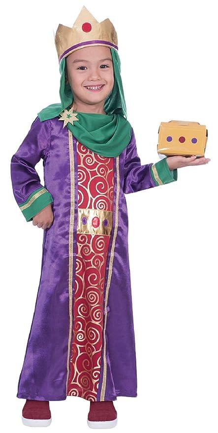 Disfraz de Hombre con Texto en inglés Wise Man with Gift Nativity ...