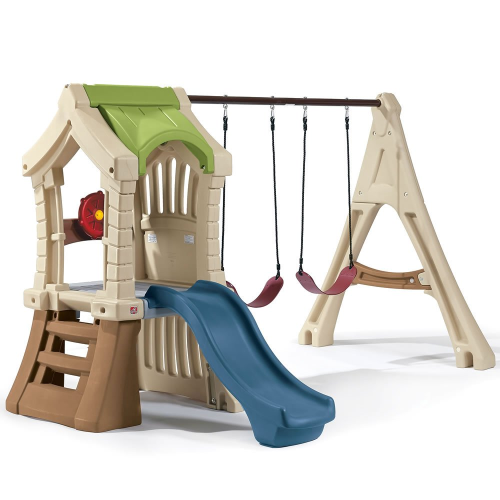 amazon com step2 swing set and backyard playset comb includes