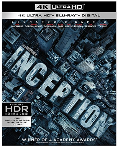 4K Blu-ray : Inception (4K Mastering, 3 Disc)
