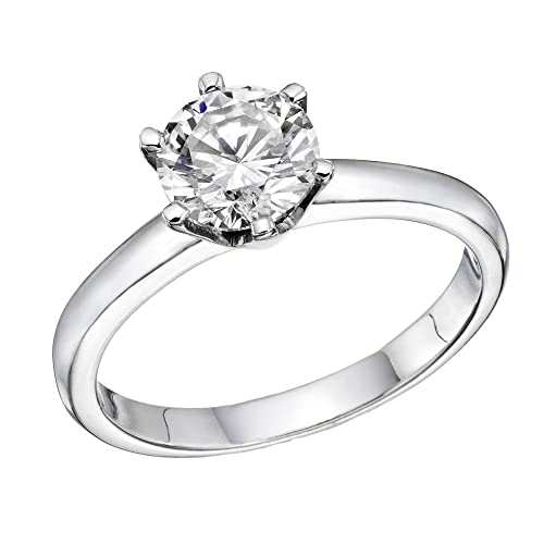 real diamond rings engagement style round ring bridal diamonds