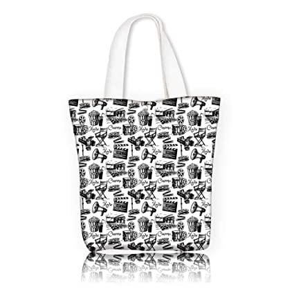 Amazon com: Canvas Tote Bag -W11 x H11 x D3 INCH/Men And