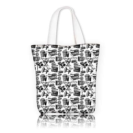 Amazon com: Canvas Tote Bag -W11 x H11 x D3 INCH/Men And