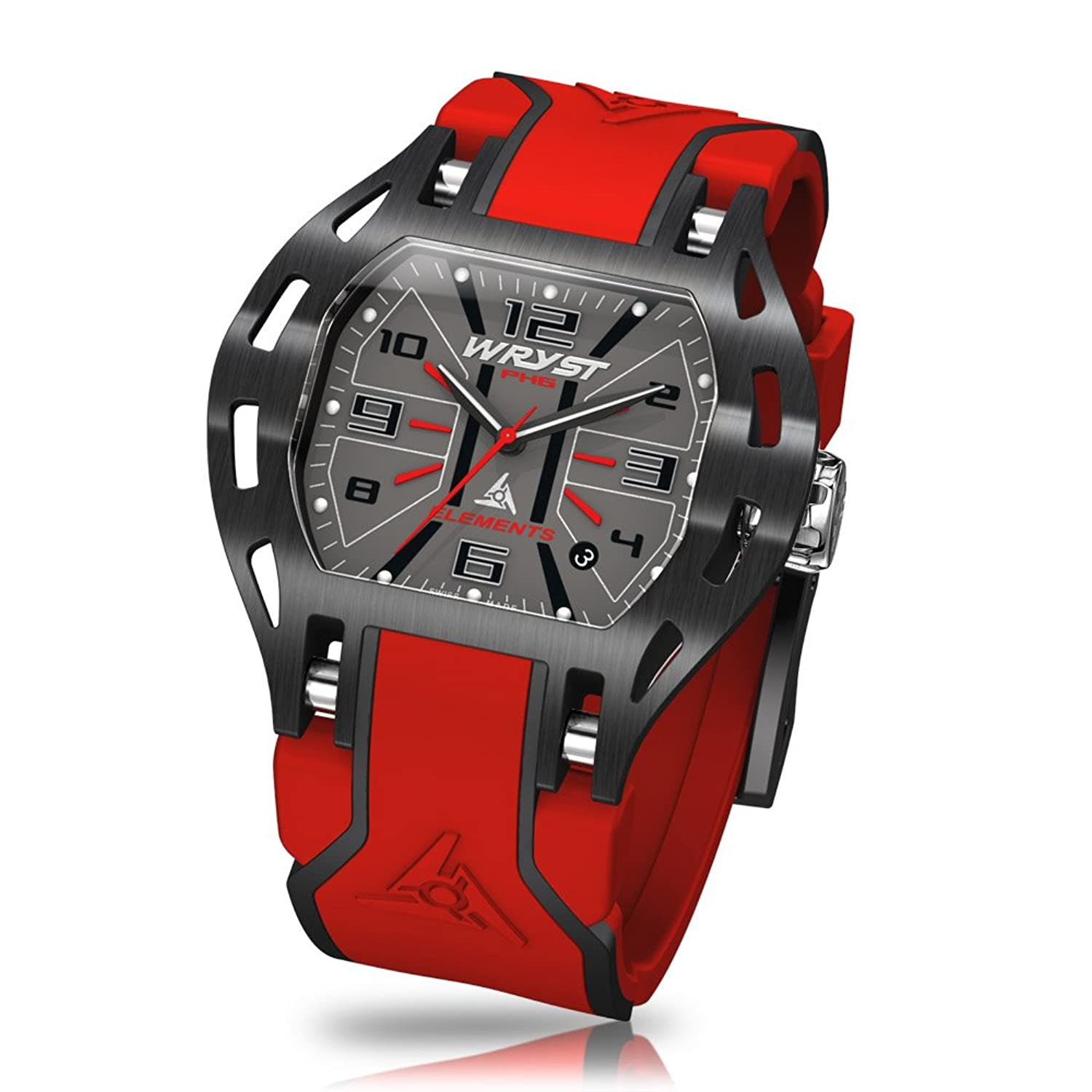 Rot Swiss Sport Armbanduhr wryst Elements Ph6