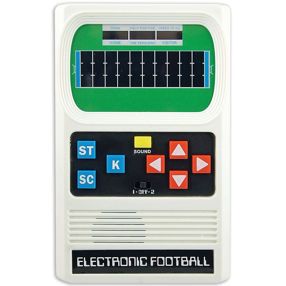 Big Game Toys~Electronic Football-Retro Classic 1970 Mattel Remake Handheld-Pocket Travel Video Game by Big Game Toys
