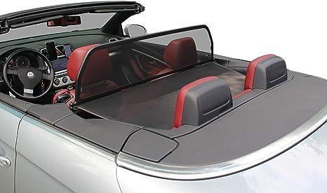 Aperta Windschott Passend Für Volkswagen Eos 1f7 1f8 100 Passgenau Oem Qualität Schwarz Windstop Windabweiser Auto