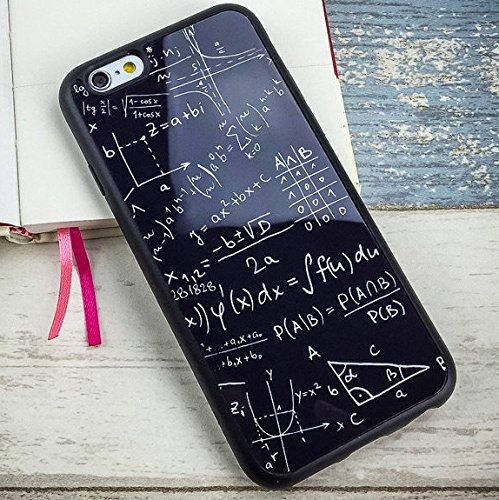 Math Mathematics Formula Fundas Coque for iPhone 7 8 Plus X 6s 6 6plus SE 5 5s Silicone Case Smooth Protector Soft Cover Cases (iphone 5/5s)