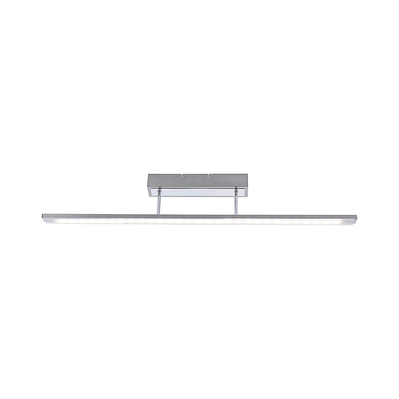 Paul Neuhaus 6555-55 Q-GLIDO LED Deckenleuchte Smart Home Alexa, RGB Farbwechsel, Fernbedienung dimmbar, warmweiß oder Farbwechsel