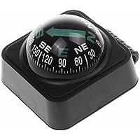 SJ Universal Vehicle Boat Car Truck Ball Navigation Compass ABS Black Color 1 Piece -02