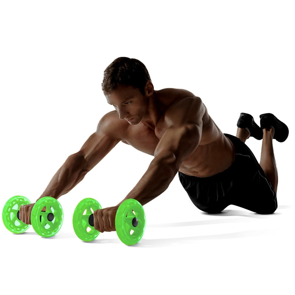 1UP Dual Ab Roller Wheels