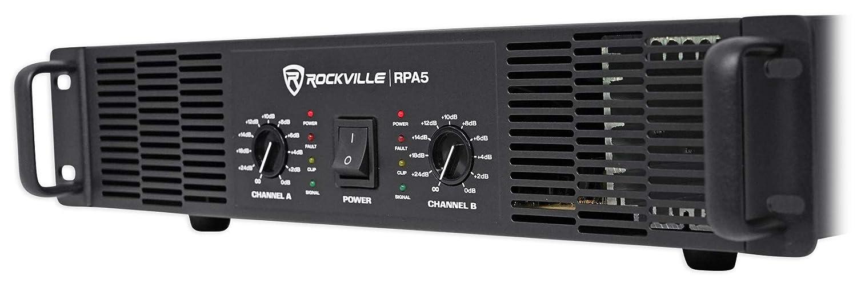 1500w RMS 2 Channel Power Amplifier Pro//DJ Amp Rockville RPA9 3000 Watt Peak