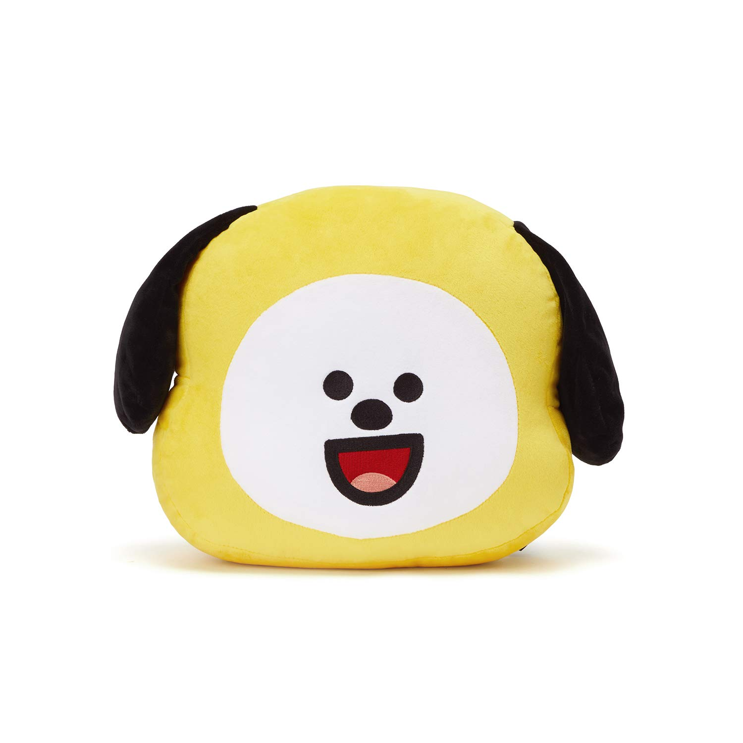 LINE FRIENDS BT21 Official Merchandise CHIMMY Smile Decorative Throw Pillows Cushion, 11 Inch