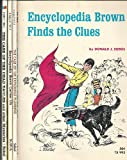 Encyclopedia Brown [4 Novels] (Enclyclopedia Brown Finds the Clues/Carries On/The Case of the Dead Eagles/The Exploding Plumbing)