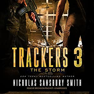 Trackers 3: The Storm Audiobook