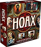 The best liar wins in Hoax, a fast-paced party game of secret identities designed by, Bill Eberle, Jack Kittredge, Ned Horn and Peter Olotka. When an unscrupulous business magnate meets an undignified end, a fierce competition for his estate ...