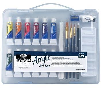 Royal & Langnickel Essentials - Juego de pintura acrílica ...