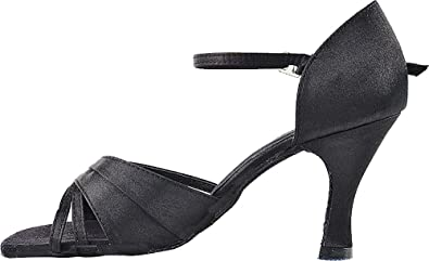 Bundle of 5 Womens Ballroom Dance Shoes Tango Wedding Salsa Shoes 2703EB Comfortable-Very Fine 3