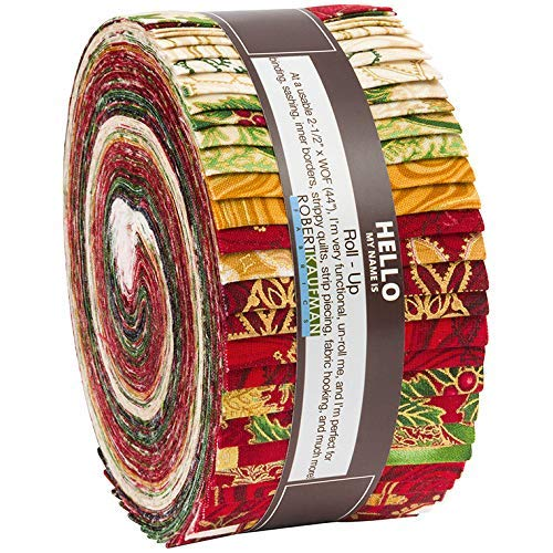 Holiday Flourish Holiday Colorstory by Peggy Toole Roll up 2.5