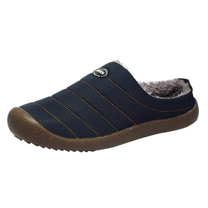 Zapatillas de Mujer de BaZhaHei, Modelos de mujer, además de terciopelo cálido, impermeable