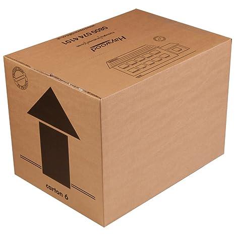 """15 x Libro de cartón de doble pared cajas 18 x 13 x 13 """""""