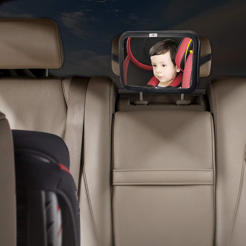 Le Plus Stable Shatterproof /& Crash Test/é View Infant in Rear Facing Seat S/écurit/é Voiture Si/ège Mirror pour Arri/ère Visage Switory Miroir Voiture Bebe,R/étroviseur Voiture Bebe