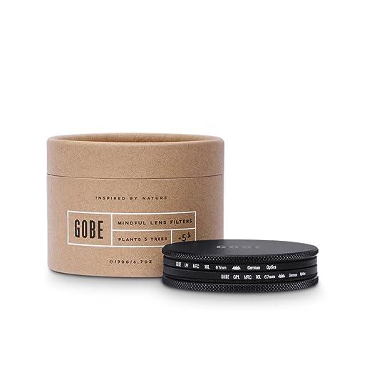 8 opinioni per Gobe- Kit filtri 67mm SCHOTT MRC 16-strati: UV + CPL Polarizzatore