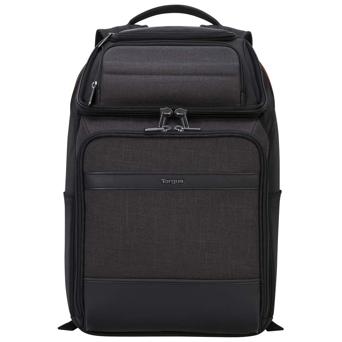 Targus CitySmart EVA Pro Travel Business Commuter and Checkpoint-Friendly Backpack with Protective Sleeve for 15.6-Inch Laptop, Gray (TSB895)