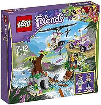Lego Friends - Selva, Rescate en el Puente de la Jungla (41036 ...