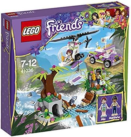 Lego Friends - Selva, Rescate en el Puente de la Jungla (41036): Amazon.es: Juguetes y juegos