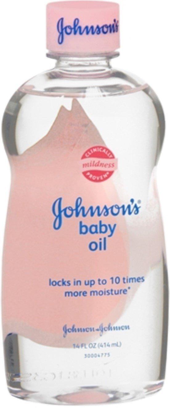 JOHNSON'S Baby Oil 14 oz (7 Pack) by Pharmapacks