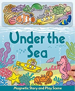 under the sea magnetic story play scene