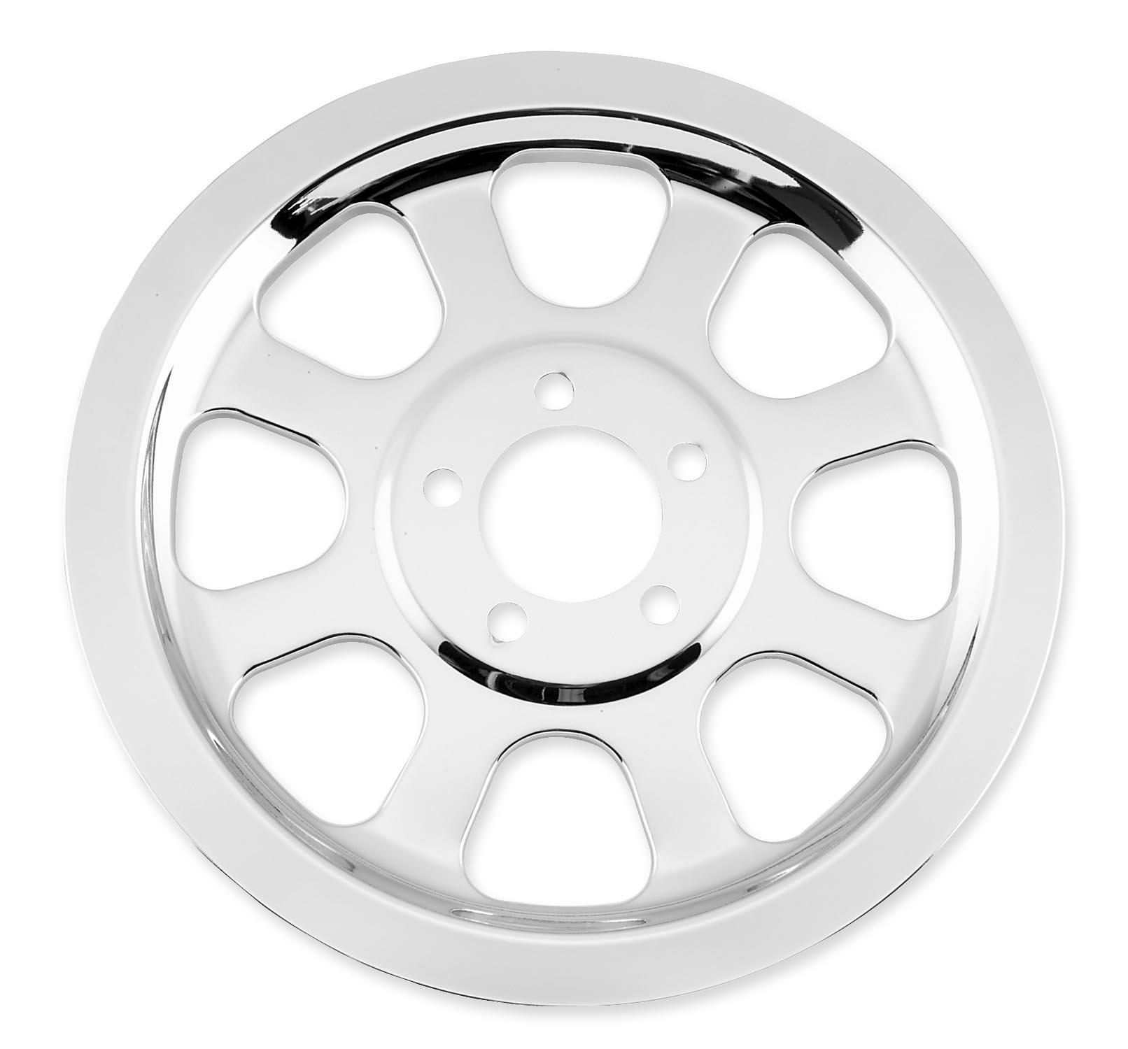 Bikers Choice Belt Drive Pulley Cover for Harley Davidson 2000-06 Softail model - One Size by Biker's Choice