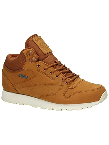 f5a16548adb177 Reebok CL LTHR Mid Gore-Tex AQ9851 Brown Men Trainers Sneaker Shoes Size  EU