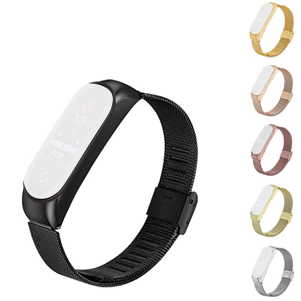 Zolimx Para Xiaomi Huami Amazfit Bip Smartwatch Acero Inoxidable ...