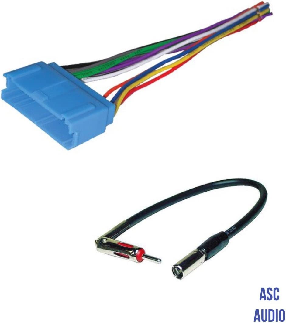 Vehicles listed below Other ASC Audio Car Stereo Radio Wire Harness and Antenna Adapter to Aftermarket Radio for some Infiniti Nissan etc.