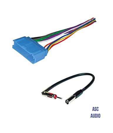 61Jl%2BfSMgPL._SY450_ amazon com asc audio car stereo radio wire harness and antenna  at gsmportal.co