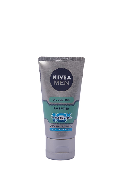 Nivea Whitening Oil Control 10X Face Wash Whitanat Vita Complex 50 Grams