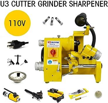 Universal Cutter Grinder Sharpener End Mill Sharpener U3 110V Collect Grinder