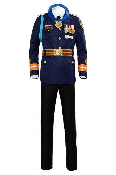 Amazon.com: Disfraz de soldado de Cosmovie para hombre ...