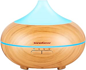 Win A Free InnoGear 500ml Aromatherapy Essential Oil Diffuser Wood...