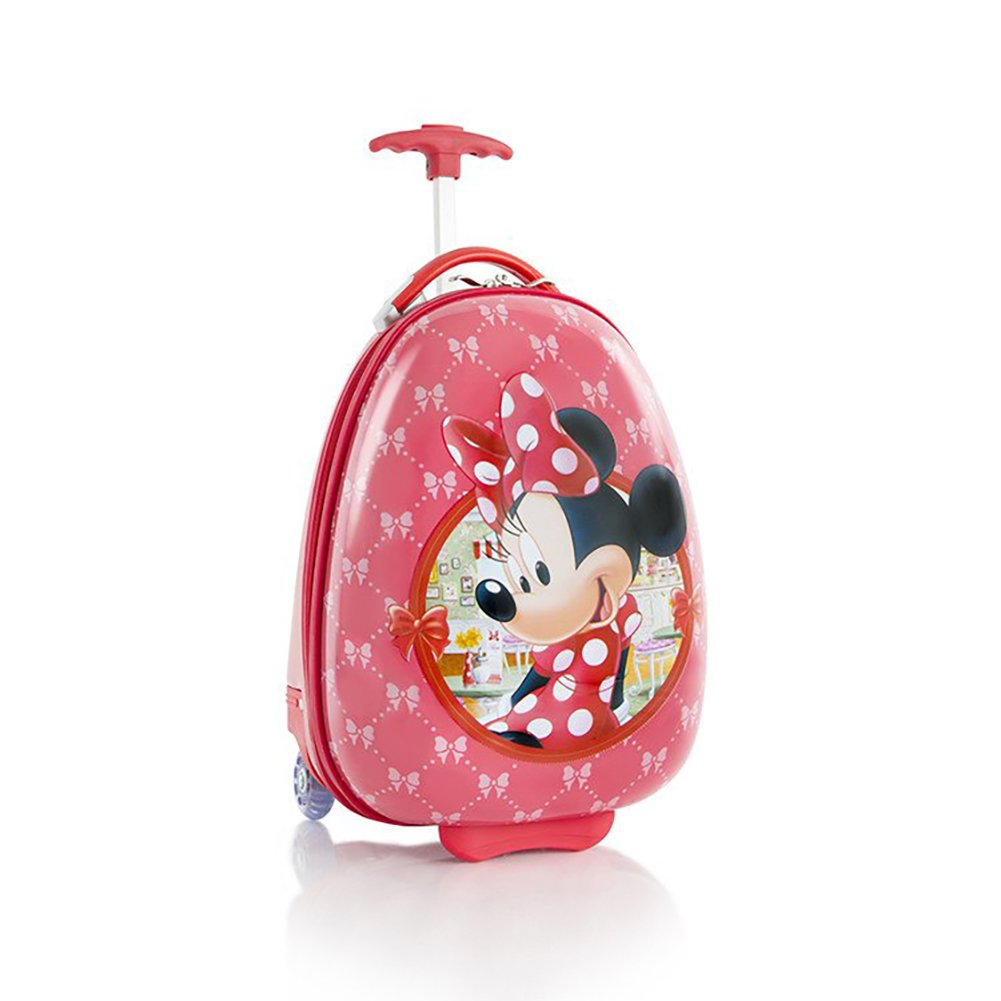 Heys Disney Minnie Mouse Kids Deluxe 18 Luggage Carry on Approved