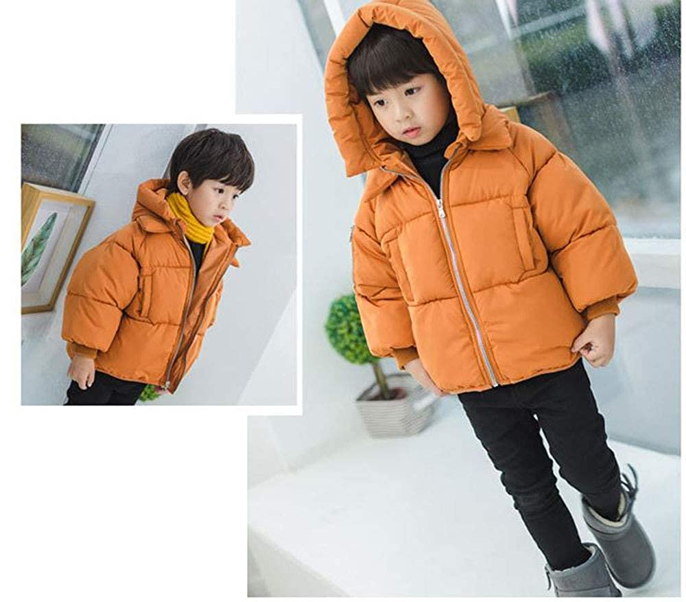 Mornyray Toddler Baby Boy Girl Puff Lightweight Outerwear Winter Hood Down Jacket