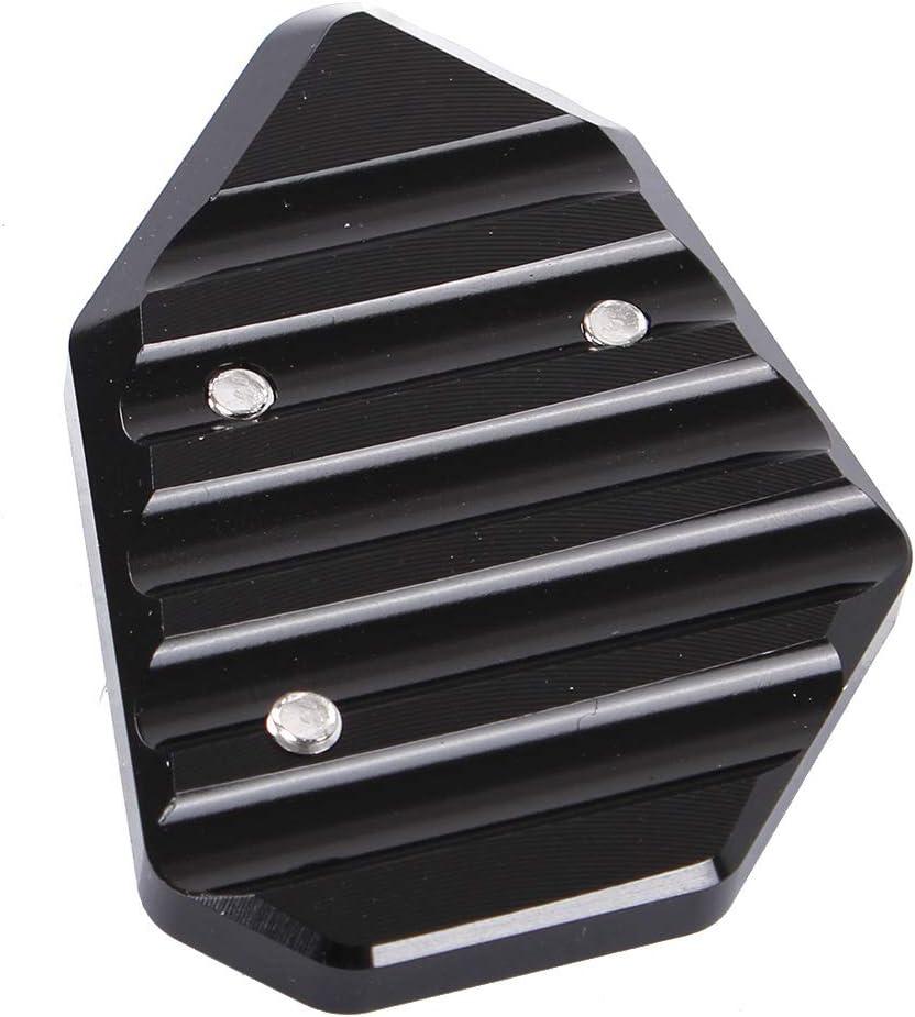 RONSHIN Kickstandfu/ß Seitenst/änder Verl/ängerungspad-St/ützplatte f/ür BMW K1200S K1300 Black