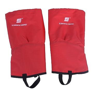 464ee87c41 VGEBY 1 Paar Wasserdicht Gamaschen für Damen und Herren Schutz für Hose gegen  Regen Schnee für