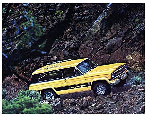 Jeep Cherokee Chief >> Amazon Com 1979 Jeep Cherokee Chief Factory Photo