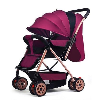 ZLYFA Sistema De Viaje Carrito para Bebés Plegable Puede ...