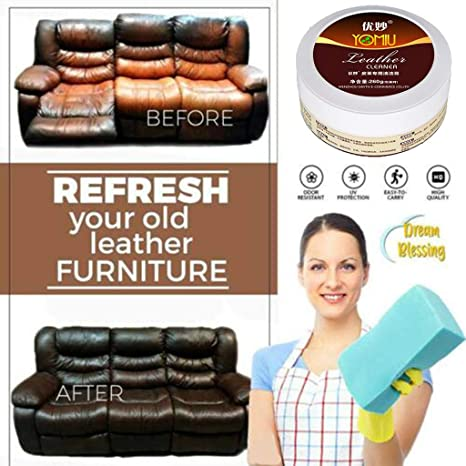 Lcyus Household Leather Cleaner, Multifunctional Leather Refurbishing  Cleaner Leather Conditioner for Leather Apparel, Furniture, Auto Interior,  Shoes ...