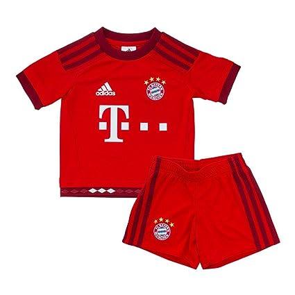 save off 8a6cd 4af8d Amazon.com : adidas FC Bayern Munich Home Mini Kit : Sports ...