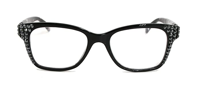 9e4a1683534 Amazon.com  Madison Square Bling Women Reading Glasses With ...