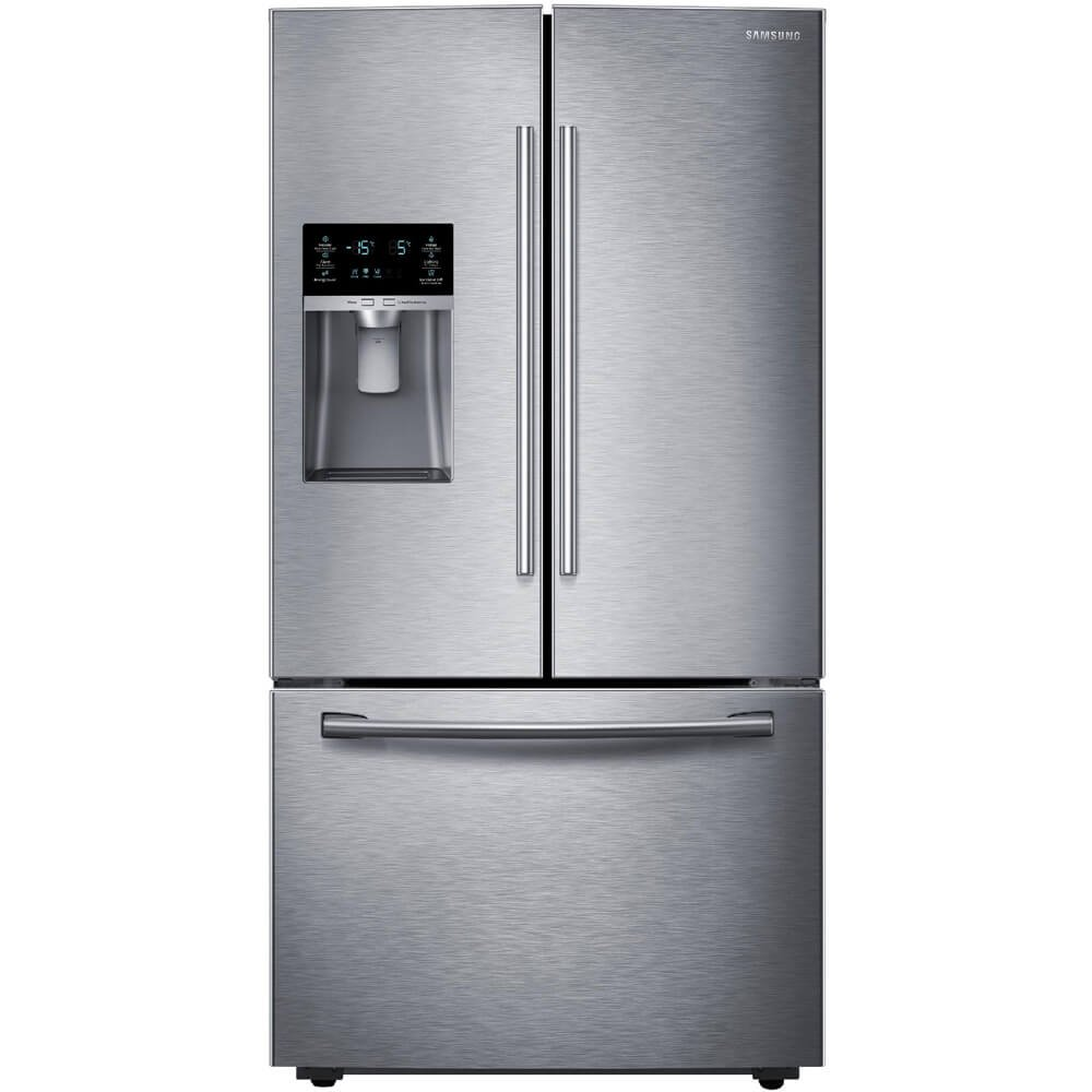 Ft Stainless Steel Samsung RF28HFEDBSR Energy Star 28 Cu French Door Refrigerator with Cool Select Pantry and Freezer Drawer