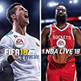 FIFA 18 - NBA Live 18 Bundle - PS4 [Digital Code]